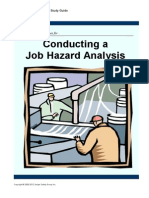 706 Job Hazard Analysis