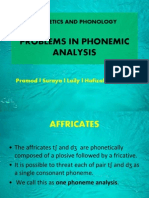 PROBLEMS IN PHONEMIC ANALYSIS.ppt