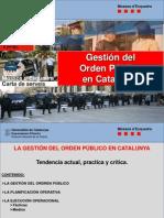 Modelo orden Público policia cataluña