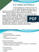 Aula 21-08-2013 Holismo e Visao Sistemica