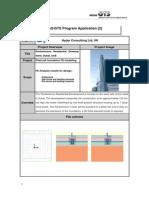 Application 5 - Pentominium Tower Piled Raft Model