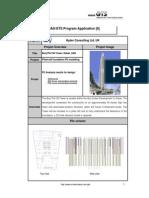 Application 6 - Burj Plot 38 Piled Raft Foundation
