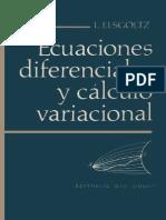 Ecuaciones Diferenciales - Elsgoltz - Parte 1.pdf