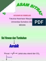 Biokimia 11 (Siklus Asam Sitrat)