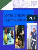 ControlyCertificaciondeEPPyNormaVigente