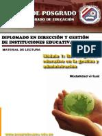 Gestion Direccion UNI 2013 PERU