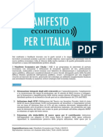 Manifesto Economico