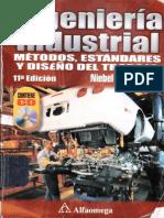 Ingeniería industrial. Métodos, estandares y diseño del trabajo – Benjamin W. Niebel
