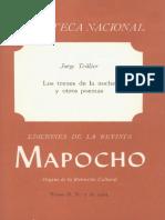 Jorge Teillier - Los Trenes de La Noche y Otros Poemas