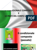 IL CONDIZIONALE COMPOSTO e LE PARTI DEL CORPO.ppsx