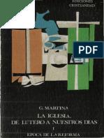 Giacomo Martina - Epoca de La Reforma