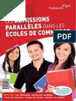 Les Admissions parallèles dans les écoles de commerce