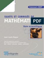 Maths pour Prépa