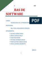 Pruebas de Software (Informe Final)