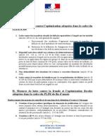Liste des mesures législatives anti-fraude fiscale