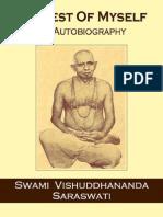 In Quest of Myself - Autobiography of Swami Vishuddhananda Saraswati (Disciple of Swami Nigamananda Paramanshadev)