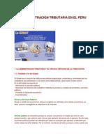 LA ADMINISTRACIÓN TRIBUTARIA EN EL PERU