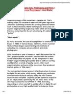 Inkjet Digital Printmaking Copia