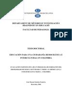 Iván Manuel Sánchez - Una ciudadanía democrática en Colombia (Tesis doctoral)
