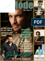 Le Mode TV Magazine - Julian Gil