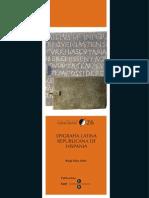 Epigrafia Latina Republicana in Hispania