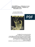 Krishnamurti Jiddu - L'homme et son message.pdf