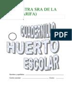 Cuadernillo de Fichas Previas 2013-14