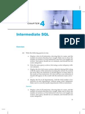 4s | Sql | Data Management Software