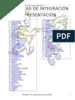 (74) dinámicas de integración y presentación