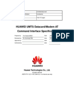 HUAWEI UMTS Datacard Modem at Command Interface Specification_V2.3