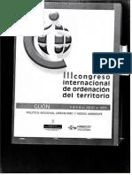 Lectura III Congreso Internacional de OT