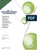 Parámetros de práctica para la Evaluación y Tratamiento de niños y adolescentes con Idioma y Trastornos del Aprendizaje