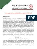 Principios de Organizacion M-L