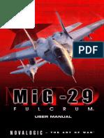 Mig29 (Manual simulador de vuelo - Juego).pdf