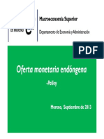 Oferta Monetaria Endógena