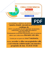 Catalogo Dvd Crea Conciencia