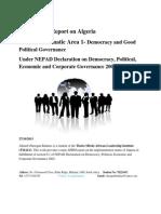 MINI APRM REPORT ON ALGERIA