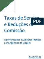 Taxas de Serviço e Reduções de Comissão - Versão em português