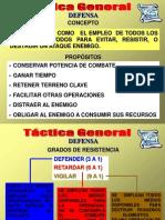Defensa Tactica General