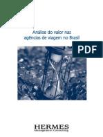 Análise do valor nas agências de viagem no Brasil - versão em português