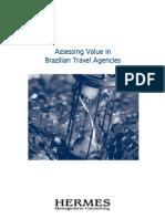Análise do valor nas agências de viagem no Brasil - versão em inglês