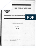 1993 NYC Public Data Directory