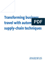 Transforming business travel with automotive supply-chain techniques