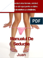 Manual de seductie juan.