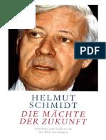 Schmidt, Helmut - Die Mächte der Zukunft