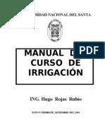 Manual I Del Curso de Irrigacion