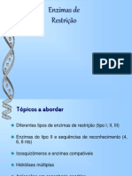 enzimas restrição