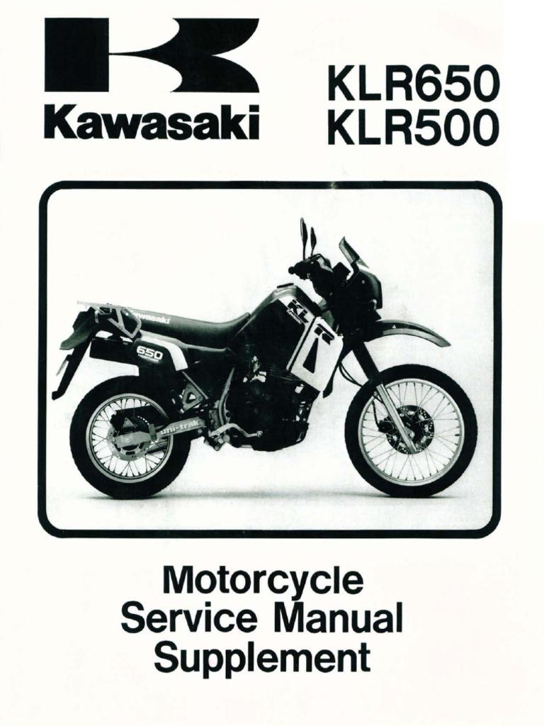manual de servicio klr 650 rh es scribd com KLR 650 2018 2007 KLR 650