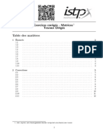 Matrices TD