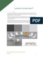The Partnership Scorecard